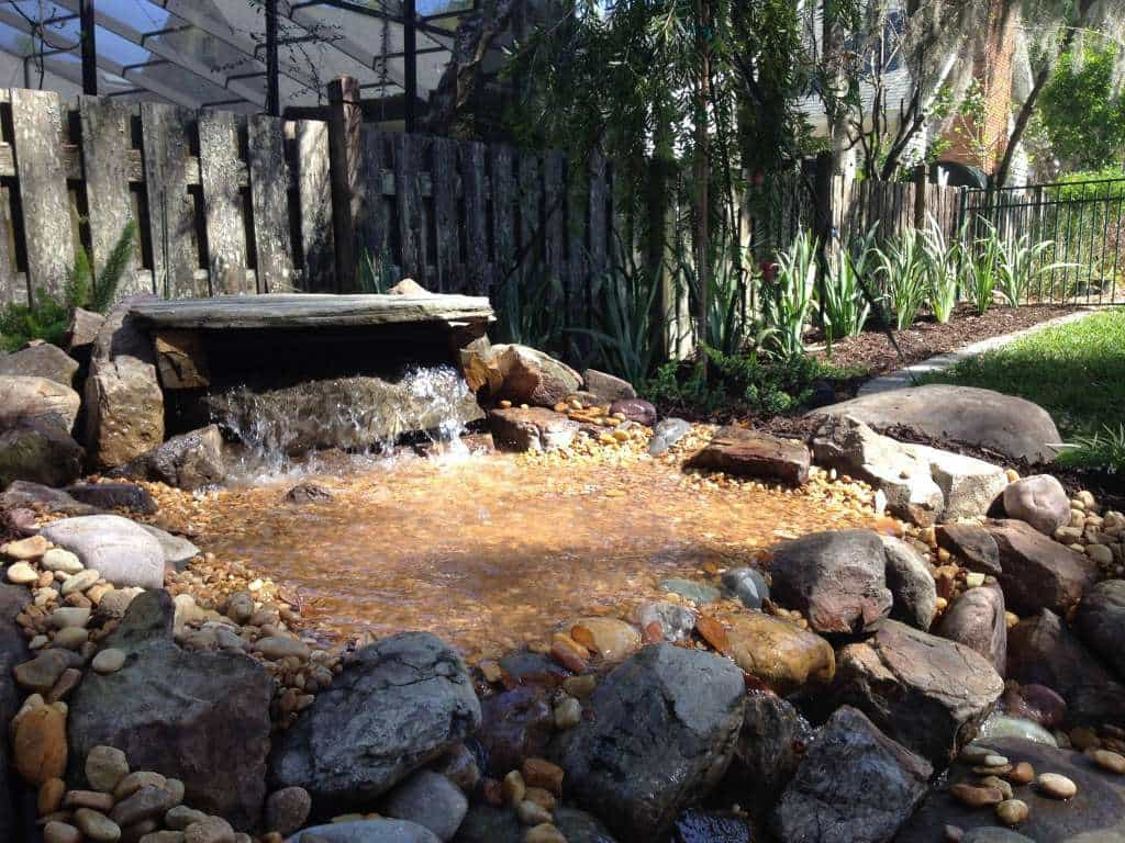 Water Feature Amp Ponds Landscape Design Jacksonville Fl
