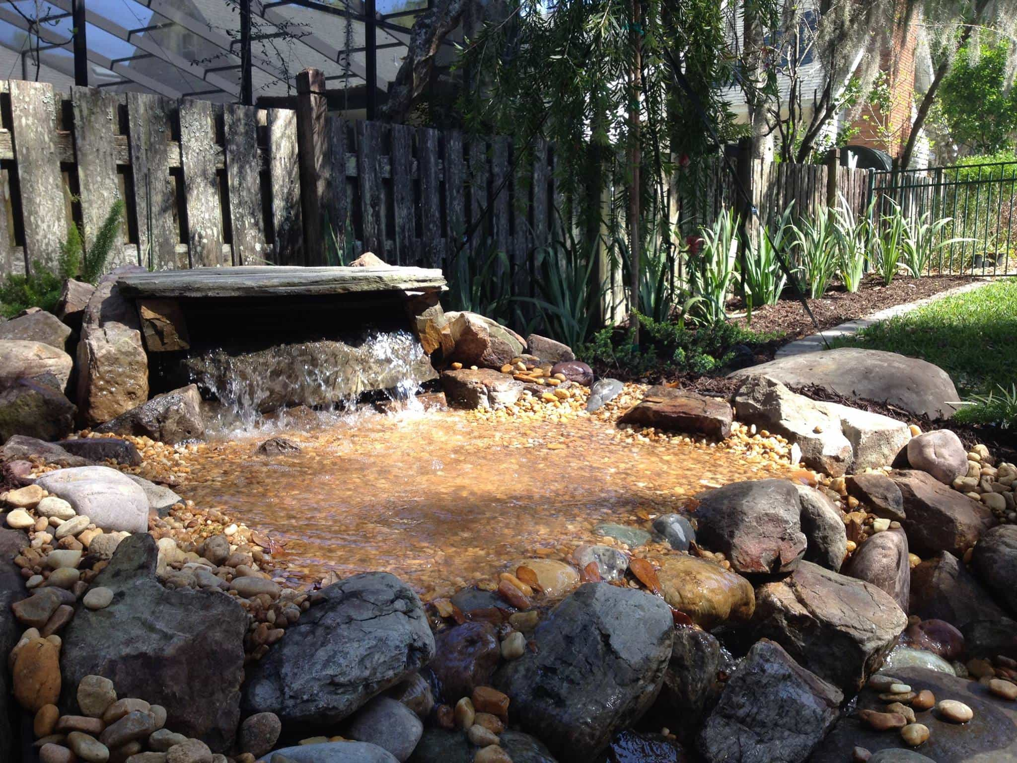 Water Feature & Ponds